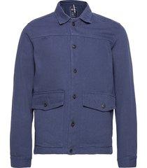 docksides worker jacket jeansjacka denimjacka blå sebago