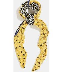 pañuelo mujer estampado amarillo esprit