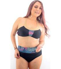 vestido de baño bikini passion for the sun para mujer - estampado