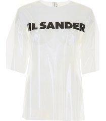 jil sander logo plexi t-shirt