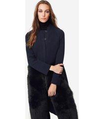 cappotto lungo cashmere volpe