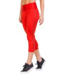legging mid leisure rojo ngx