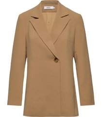 beth jacket blazer kavaj brun stylein