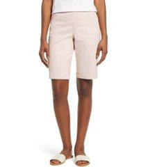 women's jag jeans gracie bermuda shorts, size 4 - pink