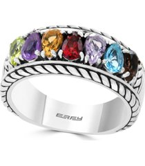 effy multi-gemstone statement ring (1-5/8 ct. t.w.) in sterling silver