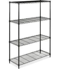 delta 4-tier wire shelf