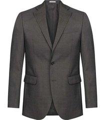 blazer elegante unicolor con forro regular fit para hombre 98101