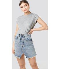 cheap monday shrunken skirt - blue