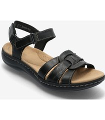 laurieann sela shoes summer shoes flat sandals svart clarks