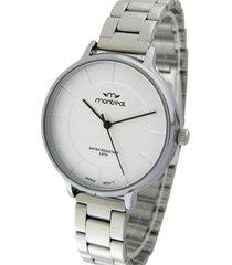 reloj plata montreal steel