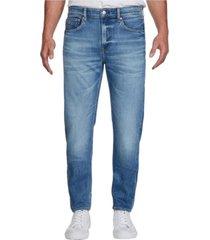 jeans slim taper azul claro calvin klein