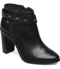 dottaa shoes boots ankle boots ankle boots with heel svart ted baker