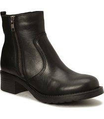 louise wool shoes boots ankle boots ankle boot - flat svart pavement