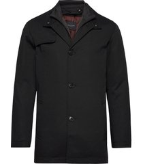 slhsimon coat bp dunne lange jas zwart selected homme