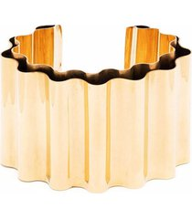 jil sander wave cuff bracelet