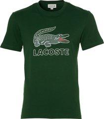 lacoste t-shirt - slim fit - groen