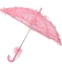ombrello del partito di cerimonia nuziale del parasole della festa nuziale delle ragazze del fiore delle ragazze del fiore fatto a mano della sposa