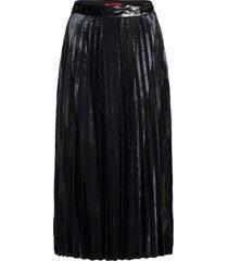 raplissa-1 knälång kjol svart hugo