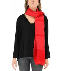 pañuelo plisado rojo humana