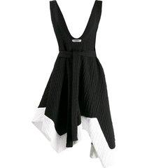 chalayan day dress - black
