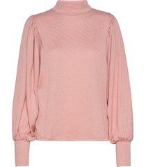 bxselma pullover - stickad tröja rosa b.young