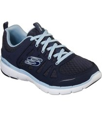 zapatilla flex appeal 3.0 - billow azul marino skechers