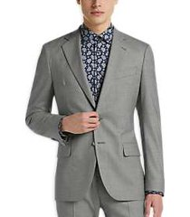 joseph abboud freedom light gray extreme slim fit suit