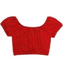 blusa ciganinha juvenil clubinho fashion feminina