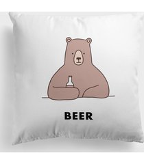 poduszka bear with beer