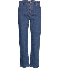 edith jeans raka jeans blå by malina