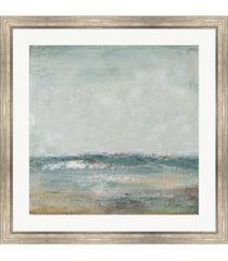 "metaverse cape cod i by patricia pinto framed art, 32"" x 32"""
