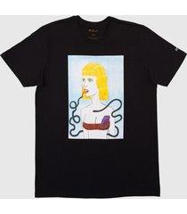 camiseta ed bl tokyo rvca