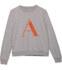 another label sweatshirt c68-220202a grijs