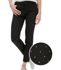 pantalon skinny ankle negro gap