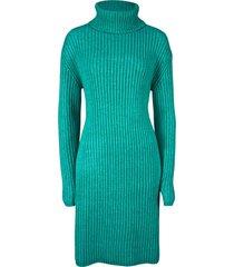 abito in maglia a collo alto (verde) - bpc bonprix collection