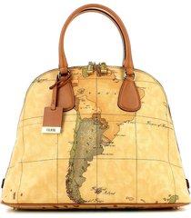 alviero martini 1a classe designer handbags, geo classic bowler bag