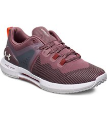 ua w hovr rise shoes sport shoes running shoes lila under armour