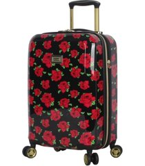 "betsey johnson 20"" hardside carry-on spinner"