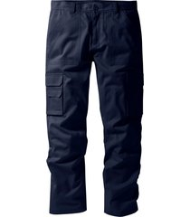 pantaloni cargo con teflon regular fit straight (blu) - bpc selection