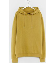womens oversized and out hoodie - lime