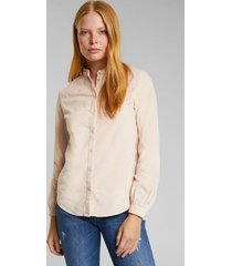 blusa de cotelé rosado esprit