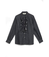ricerca cotton denim shirt