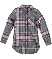 garcia stevige zachte flanel achtige blouse