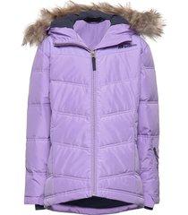 roland down jacket outerwear snow/ski clothing snow/ski jacket paars skogstad