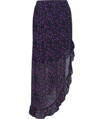 viggi knälång kjol lila custommade