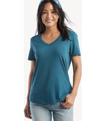 la made women's vintage tee in color: legion blue size xs fabric from sole society
