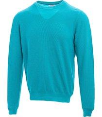 sun 68 sun68 cotton crewneck sweater