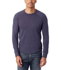 alternative apparel men's kickback vintage-like heavy knit pullover sweatshirt