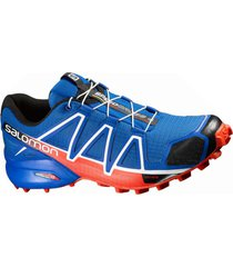 zapatilla azul salomon speedcross 4 m