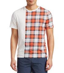split check t-shirt